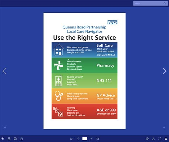 Click to view the Local Care Navigator Booklet Online